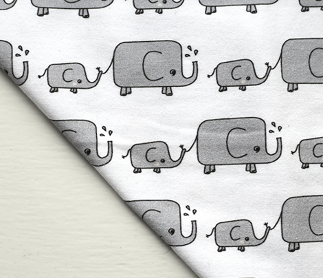 Elephants // grey elephant savannah animal