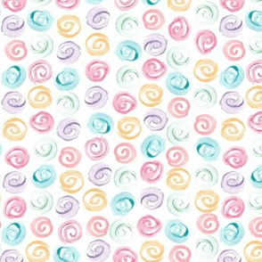 watercolor swirls