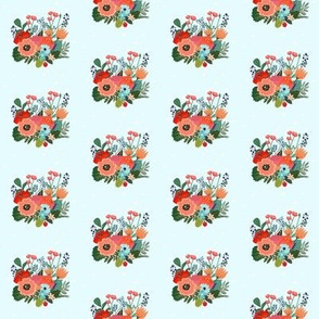 Happy Bright Florals Mini Print