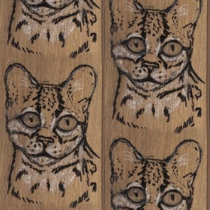 Oak Margay Stripe
