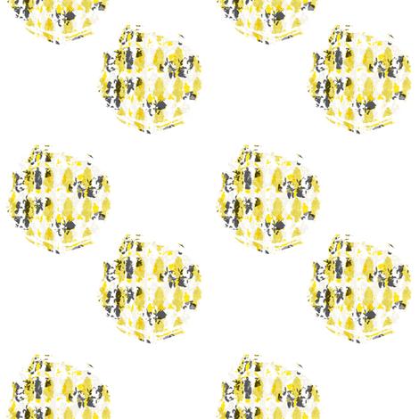 Lily Pond polka dots fabric by karenharveycox on Spoonflower - custom fabric