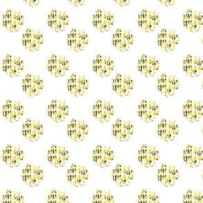 Lily Pond polka dots