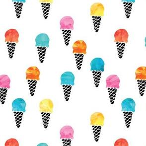 More Icecream // watercolor
