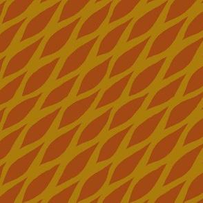 Honeycomb Ochre Brown