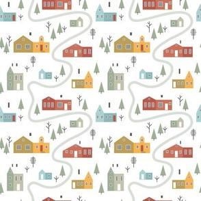 Scandinavian village