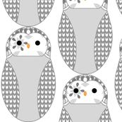 SnowyOwlFabric