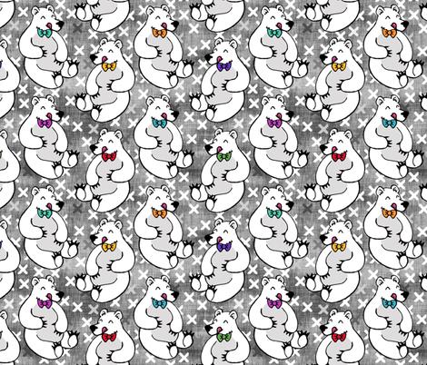 Yummy Polar Bear fabric by pond_ripple on Spoonflower - custom fabric