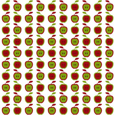 Apples (Small) fabric by vannina on Spoonflower - custom fabric