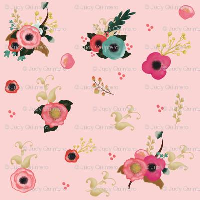 Sweet Florals - Pink