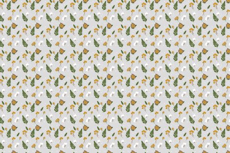 Garden Clippings fabric by bashfulbirdie on Spoonflower - custom fabric
