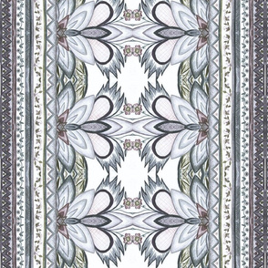 Grey Abstract Pattern