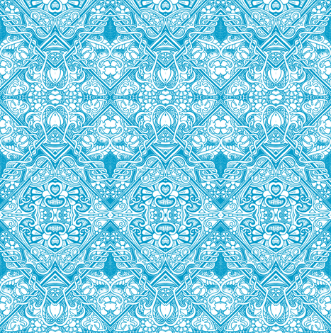 Those Psychedelic Victorians fabric by edsel2084 on Spoonflower - custom fabric