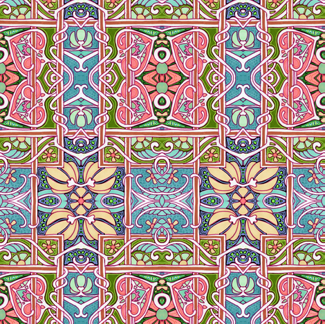 Victorian Country fabric by edsel2084 on Spoonflower - custom fabric