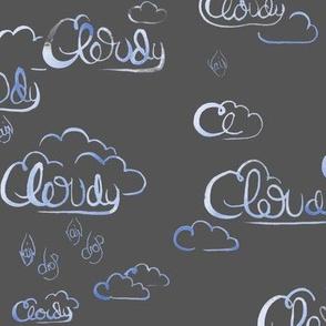 Stormy Skywriting