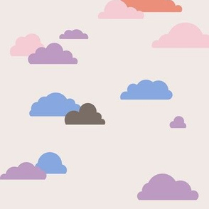 Simple Clouds at Sunset