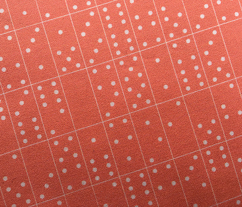 Domino Universe* (Space Fruit) || dominoes game room geometric polka dots kids children living coral