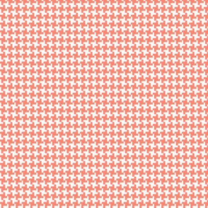 Houndstooth* (Space Fruit) || geometric midcentury modern 60s 1960s sixties mod picnic
