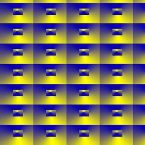 Quadrat blue-yellow