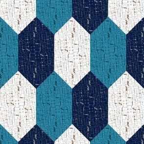 OREGON CHECK – BLUE