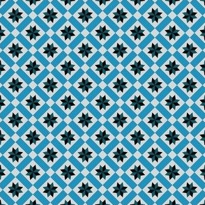 HILLSIDE QUILT – BLUE