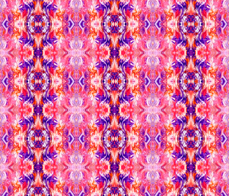 Violet Fusion fabric by lacartera on Spoonflower - custom fabric