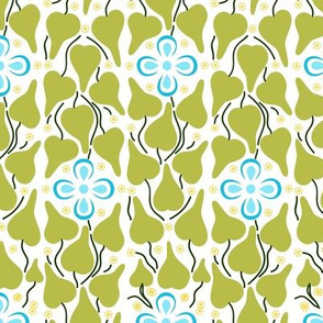 Greek leafy design