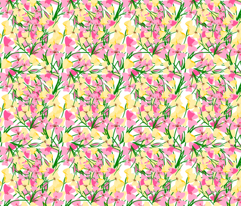 mariposa_lily_fabric fabric by anino on Spoonflower - custom fabric