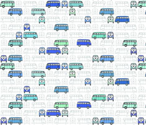 VW_Vans-ed fabric by konkers on Spoonflower - custom fabric