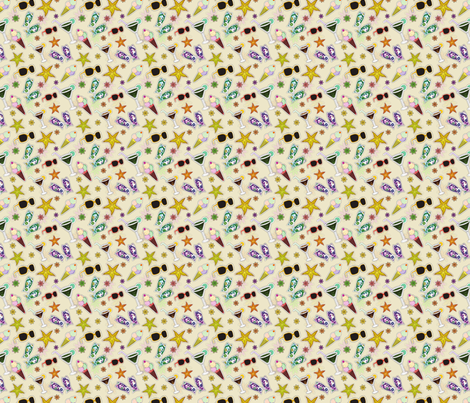 Summer Party fabric by puggy_bubbles on Spoonflower - custom fabric