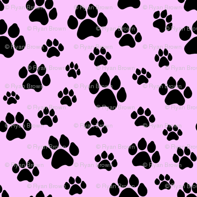 Doggy Paws - Pink // Small