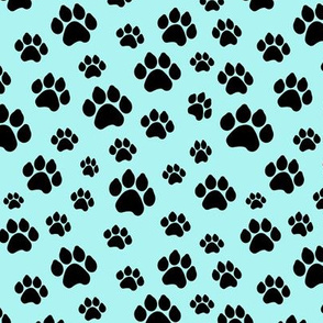 Doggy Paws - Light Blue // Small