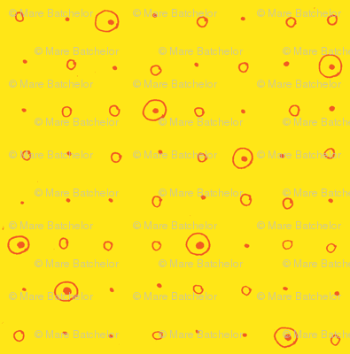 Dots-orange/yellow