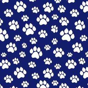 Doggy Paws - Dark Blue // Small