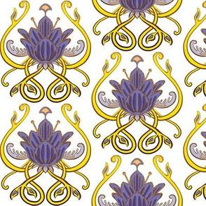 Nouveau Flower Rococo Architecture 2 Coordinate
