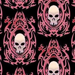 Gothic Vampire Skull