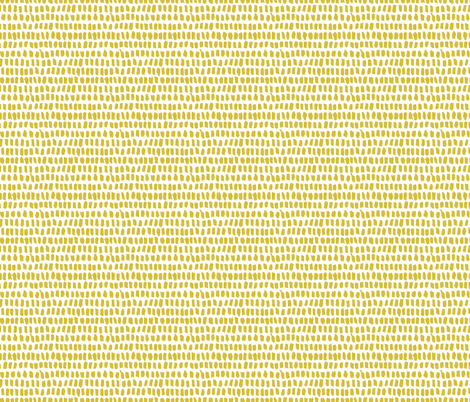 Strokes and stripes abstract scandinavian style brush design gender neutral yellow mustard XS fabric by littlesmilemakers on Spoonflower - custom fabric