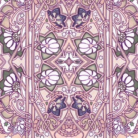 When the Winter Fairy Smacks You With Her Wand fabric by edsel2084 on Spoonflower - custom fabric