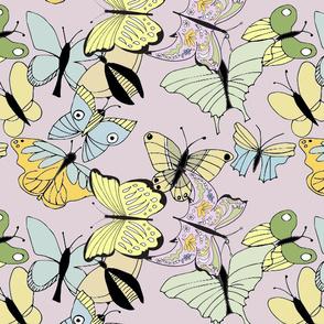 ButterfliesPastel