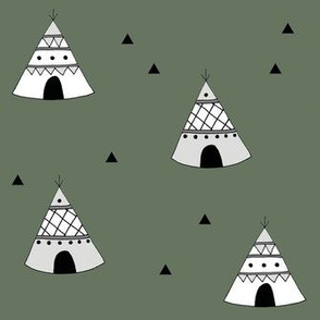 Teepees Green