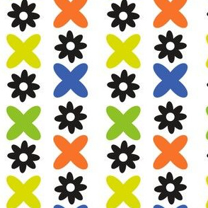 Flowers and X's