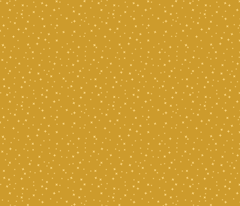 Gold Stars fabric by robinskarbek on Spoonflower - custom fabric