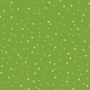 Baby Thrones - Green Stars