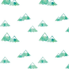 Mountains // green