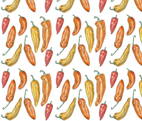 Sweet_peppers-spoonflower_shop_preview
