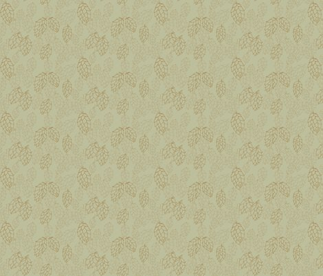 Rrcharcoal_effect_mustard_hop_repeat_size_on_pale_green_shop_preview