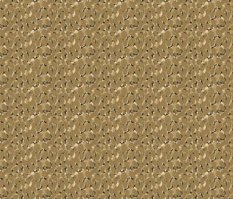 Mustard Hops in a Charcoal Poke fabric by a_bushel_of_hops on Spoonflower - custom fabric