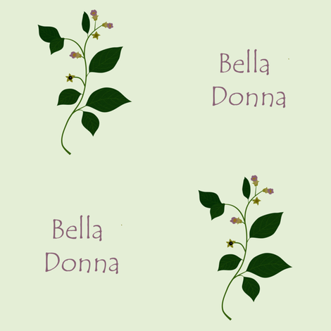 Bella Donna fabric by arts_and_herbs on Spoonflower - custom fabric