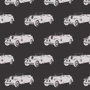 "Classic Car in Grey - Small (2.5"")"