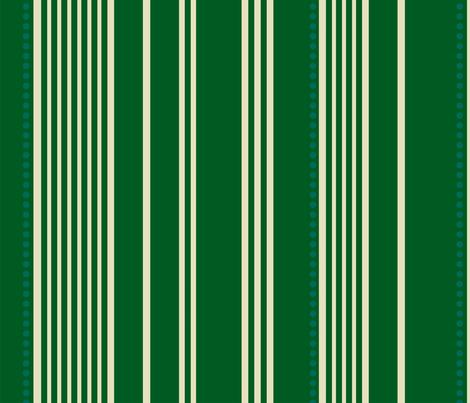 Green Stripes fabric by avanrossum on Spoonflower - custom fabric