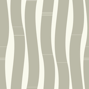 Wavy gray vertical roads